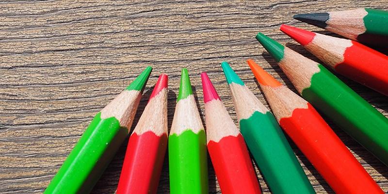 Kleurenblindheid op school, best lastig
