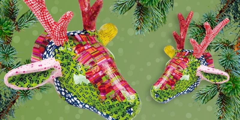 Knutseltip kerst: fleurige rendieren