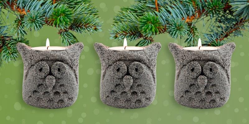 Knutseltip kerst: schattig steenklei-uiltje