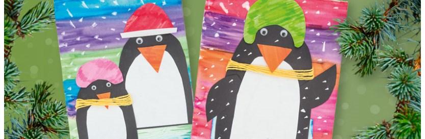 Knutseltip kerst: pinguïns in de kou