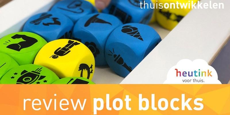 Hilariteit en creativiteit met Plot Blocks (review)