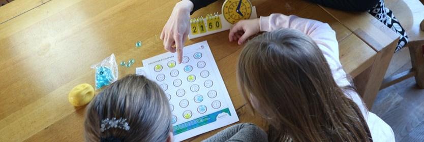 Gratis spellentips voor leren klokkijken