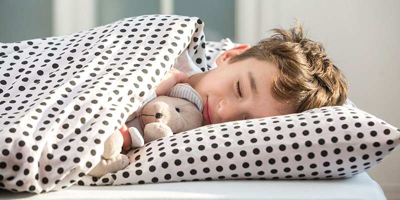 Kinderbrein profiteert van vaste bedtijd