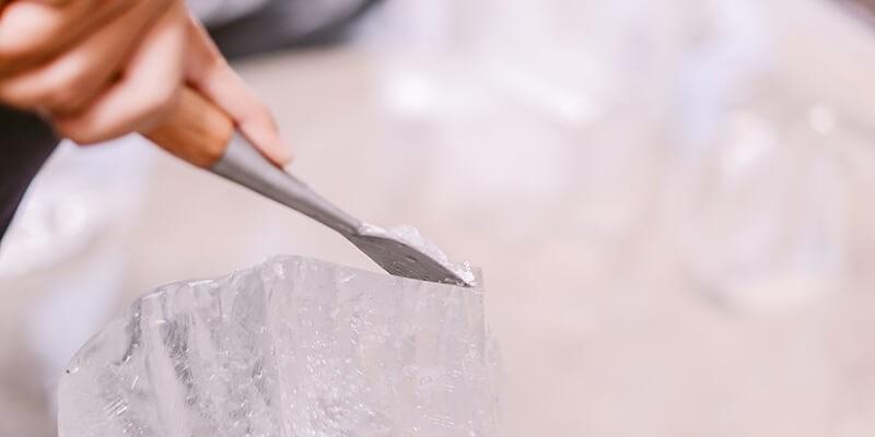 Thuis ijssculpturen maken