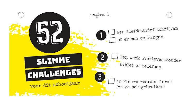 52 slimme challenges - Het leukste huiswerk voor ieder kind