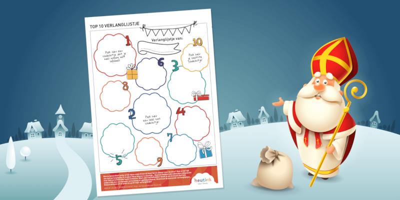 Het leukste verlanglijstje voor Sinterklaas