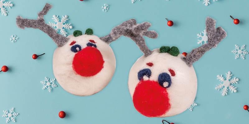 Knutseltip kerst: Rudolf met een heel rode neus