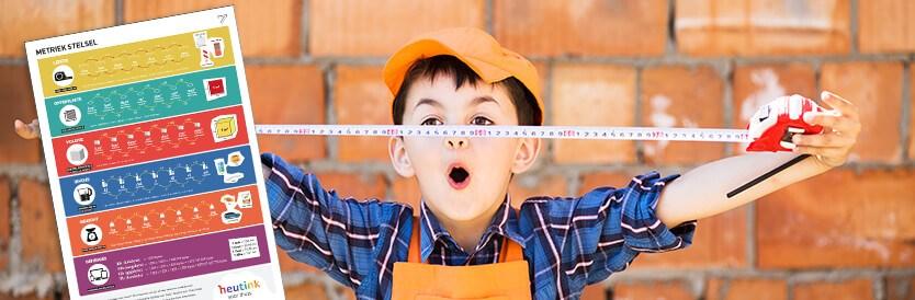Moeite met het metrieke stelsel? Zo lukt het wel