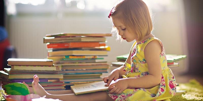 5 Tips - Zo wordt je kleuter vanzelf een lezer