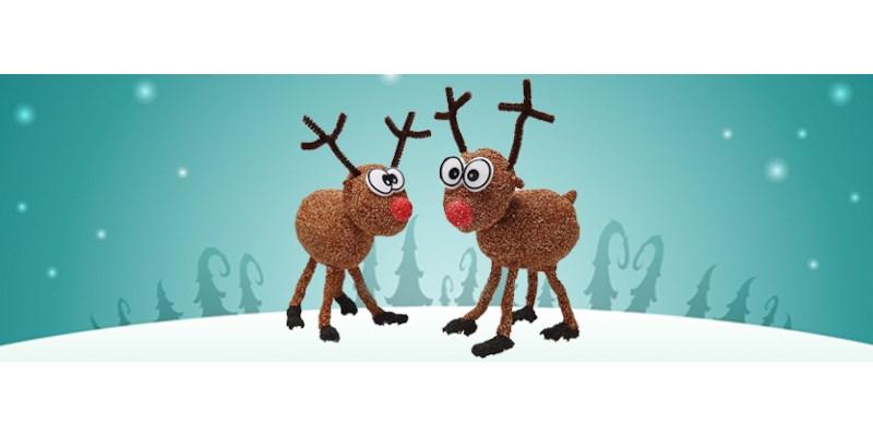 Kerstknutseltip: grappige rendieren