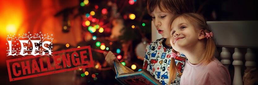 Leeschallenge voor de kerstvakantie
