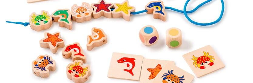 8 speltips voor het spel Zeedieren rijgen
