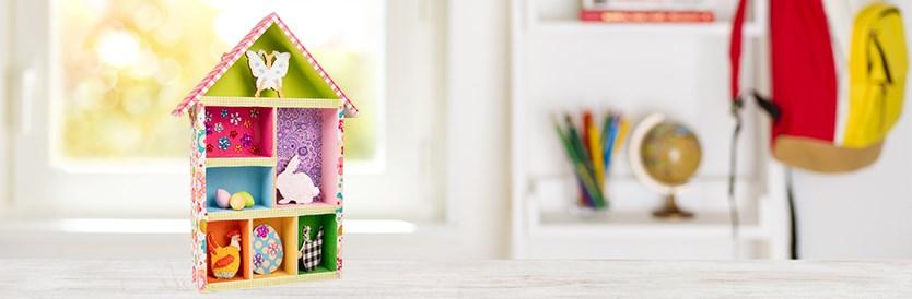 Knutseltip: maak je eigen huis