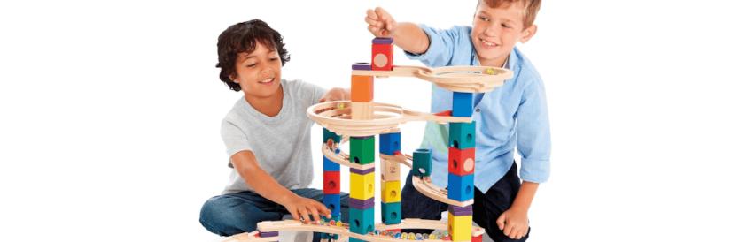 Waarom een knikkerbaan zo geweldig is voor je kind