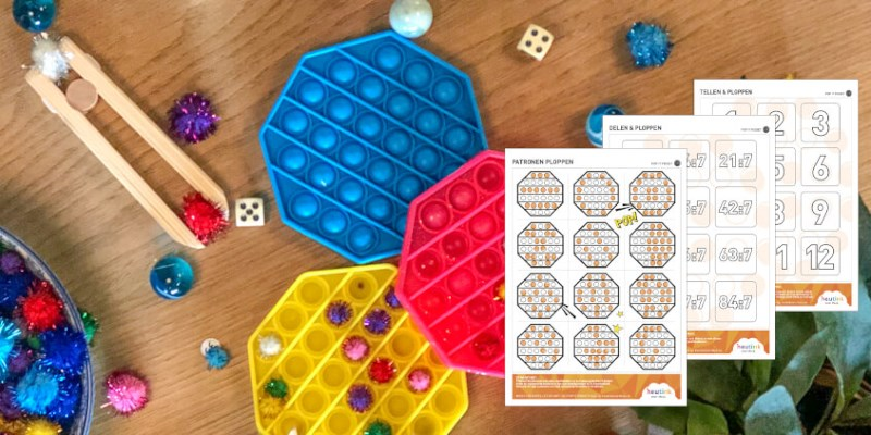 Leerzame spelletjes met de pop it fidget (met downloads)