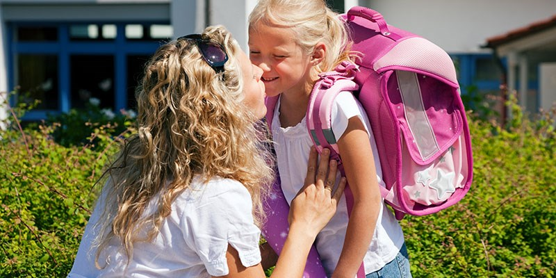 Spannend, de eerste schooldag