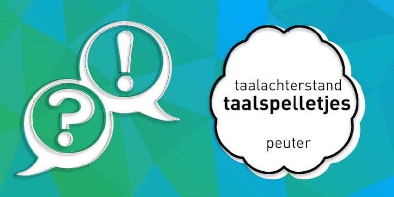 Zijn er taalspelletjes voor peuters met een taalontwikkelingsstoornis?