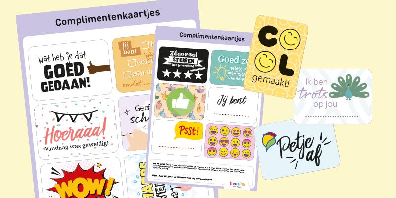 Complimentenkaartjes voor een gratis portie zelfvertrouwen