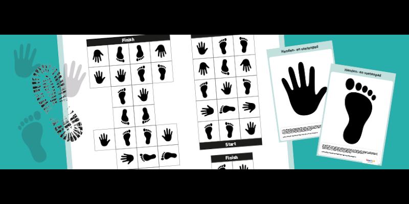 Speel het handen-en-voetenpad