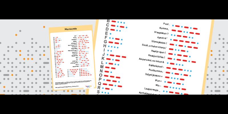 Spannende doetip: morsecode leren!